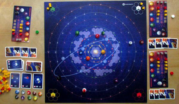 Kosmonauts - game in progress