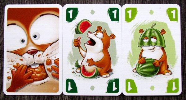 Křečkovaná - karty
