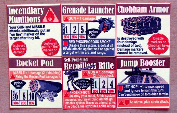 Kriegbot - cards