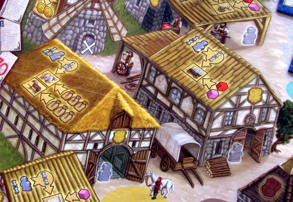 Kronika panství - detail herního plánu
