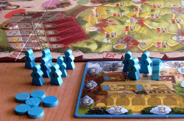 Kronika panství - připravená hra