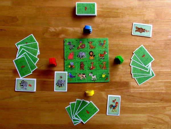 Kuck Ruck Zuck - rozehraná hra