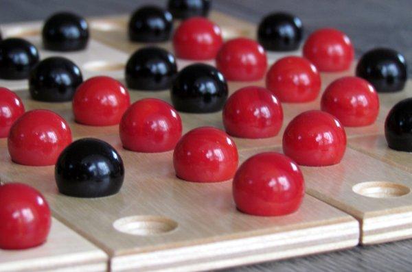 Kulami - rozehraná hra