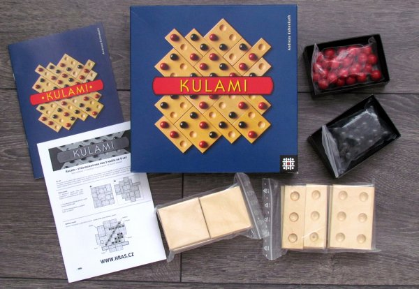 Kulami - balení
