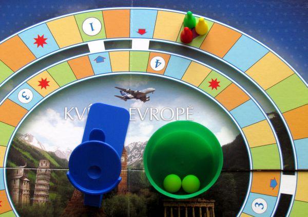 Kvíz o Evropě - připravená hra