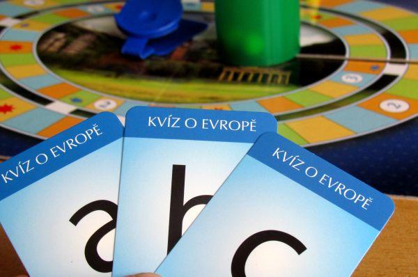 Kvíz o Evropě - rozehraná hra