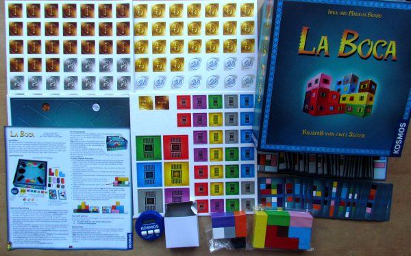 La Boca - packaging