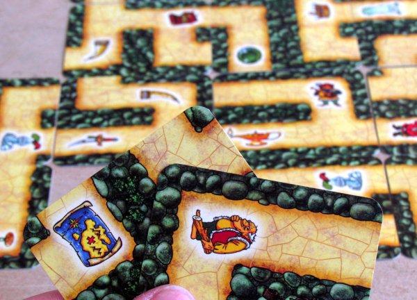Labyrinth Mini - rozehraná hra