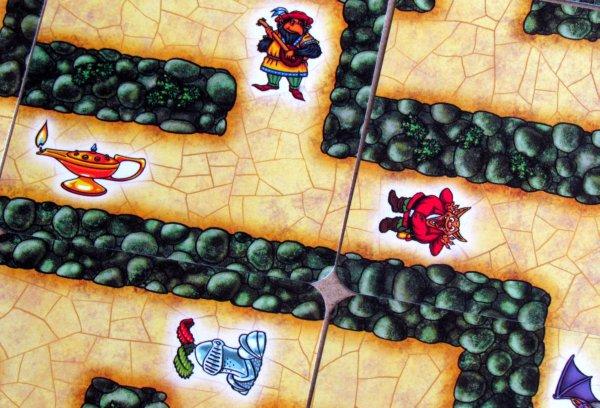 Labyrinth Mini - detail labyrintu