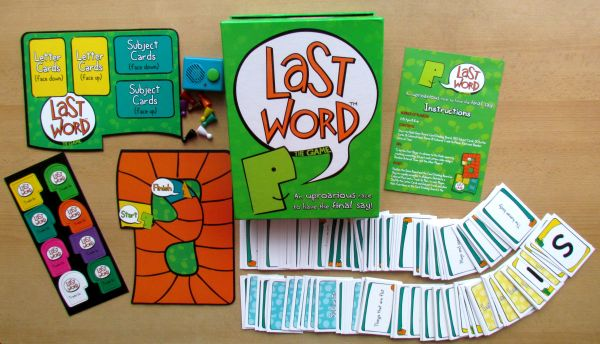 Last Word Game - balení