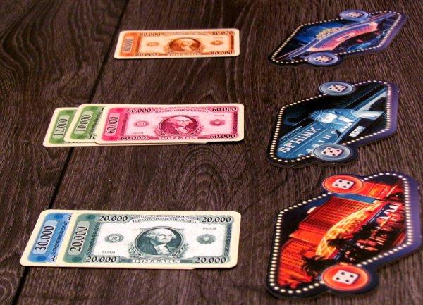 Las Vegas - připravená hra
