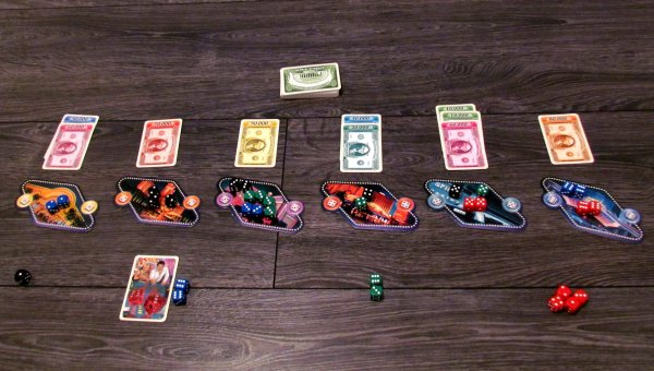 Las Vegas - rozehraná hra