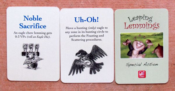 Leaping Lemmings - cards