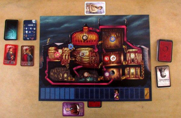 Le Fantome de'l Opera - game in progress