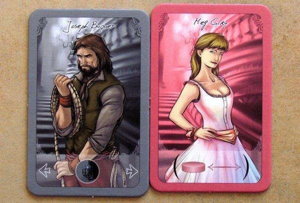Le Fantome de'l Opera - cards