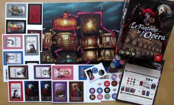 Le Fantome de'l Opera - packaging