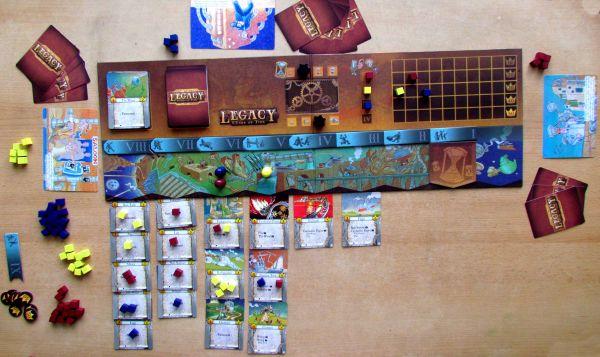 Legacy: Gears of Time - rozehraná hra