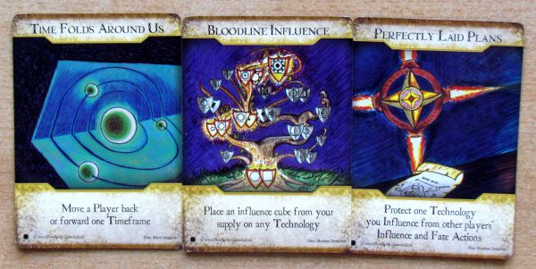 Photo: Legacy: Gears of Time - cards