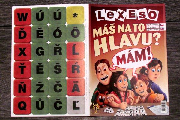 Lexeso - balení