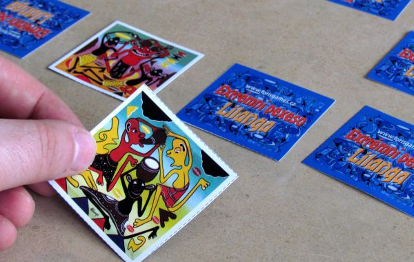 Extrémní pexeso Lilanga - rozehraná hra