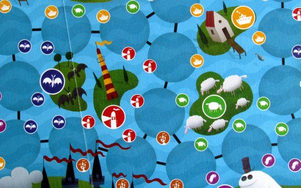 Loch Ness - detail herního plánu