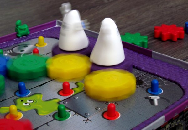 Logi-Geister - rozehraná hra