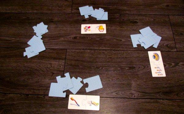 LOGO Duo - rozehraná hra