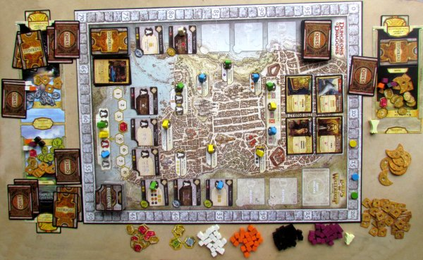 Lords of Waterdeep - rozehraná hra