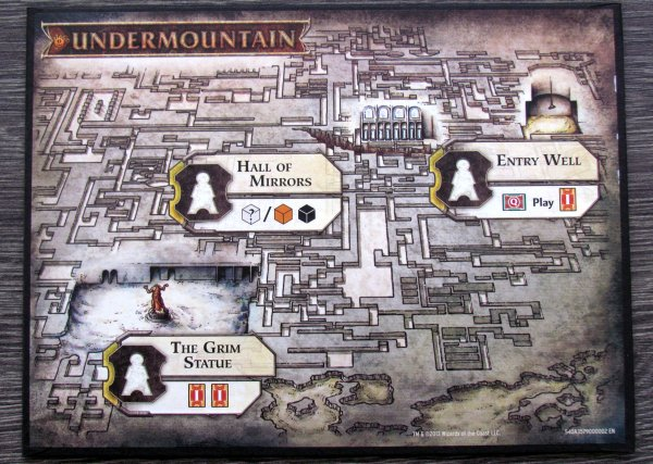 Lords of Waterdeep: Scoundrels of Skullport - board