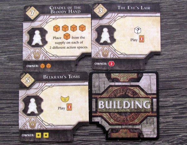 Lords of Waterdeep: Scoundrels of Skullport - tiles