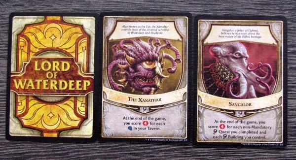 Lords of Waterdeep: Scoundrels of Skullport - cards