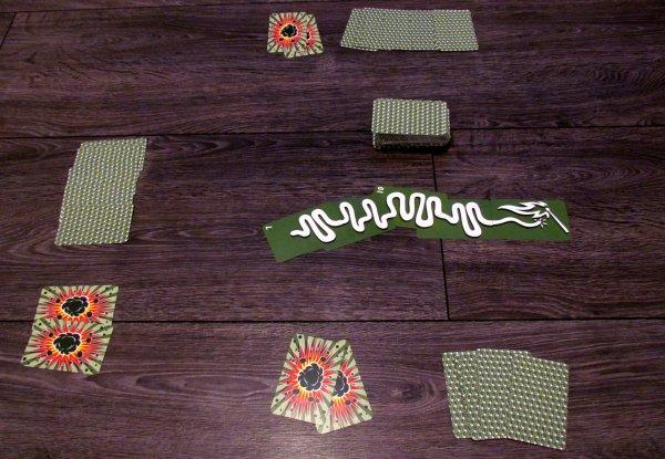 Lunte / Fuse - game in progress