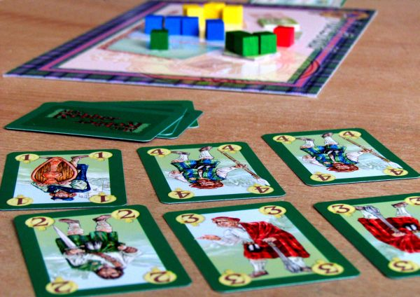 Mac Robber - připravená hra
