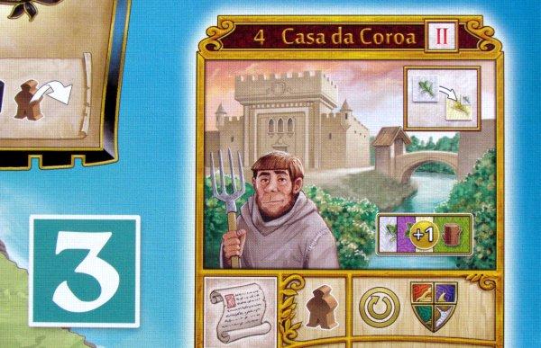 Madeira - detail herního plánu