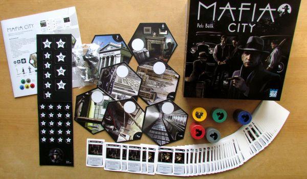 Mafia City - balení