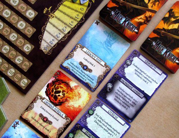 Mage Knight: Desková hra - připravená hra