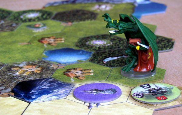 Mage Knight: Desková hra - rozehraná hra