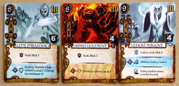 Mage Knight: Desková hra - karty