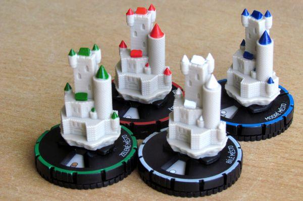 Mage Knight: Desková hra - města