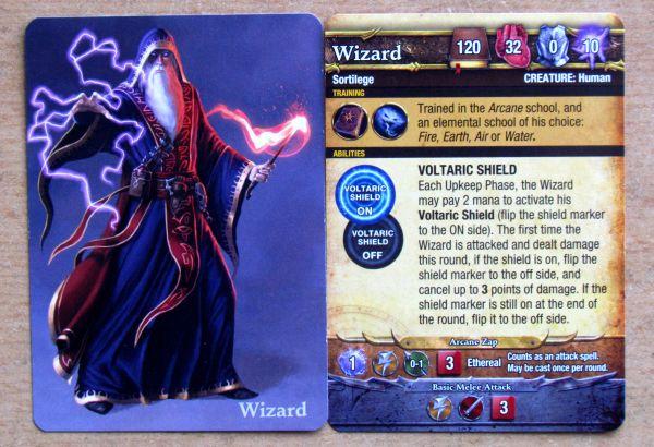 Mage Wars - karty čarodějů