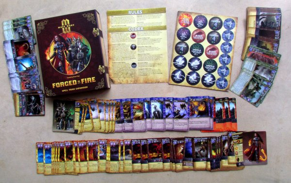 Mage Wars: Forged in Fire - packaging