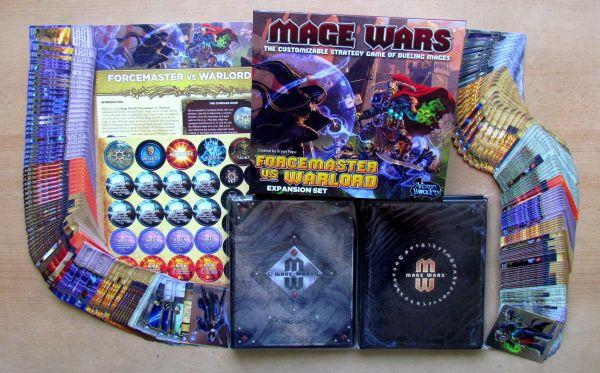 Mage Wars: Forcemaster vs Warlord - balení