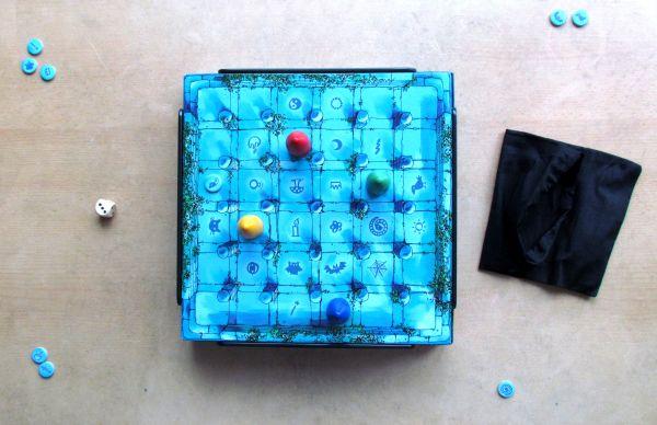 Magický labyrint - rozehraná hra