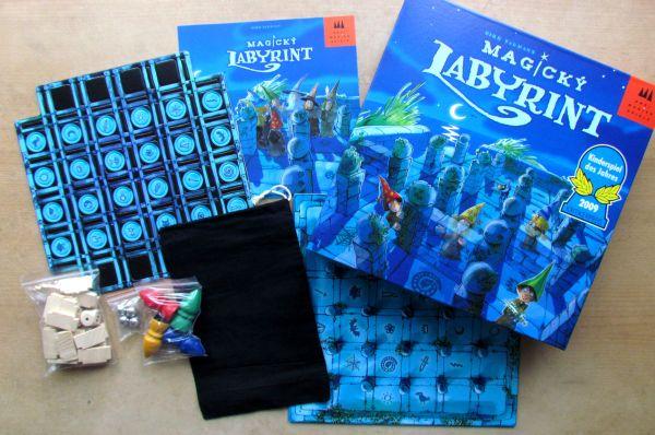 Magický labyrint - balení
