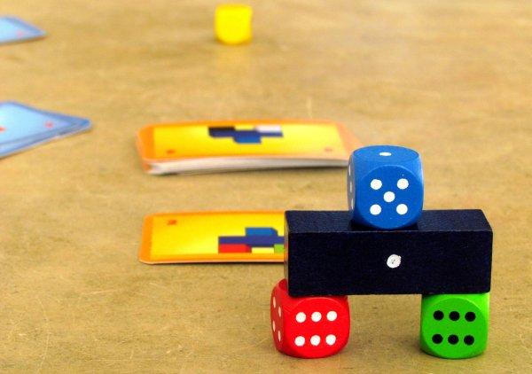 Make n Break Würfelspiel - rozehraná hra