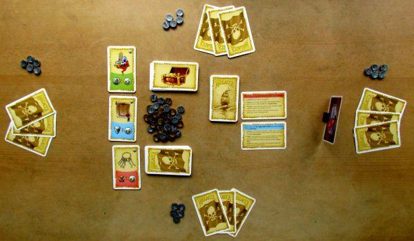 Malacca - připravená hra