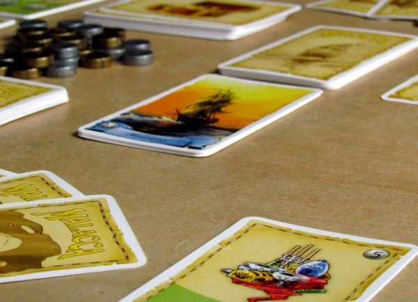 Malacca - rozehraná hra