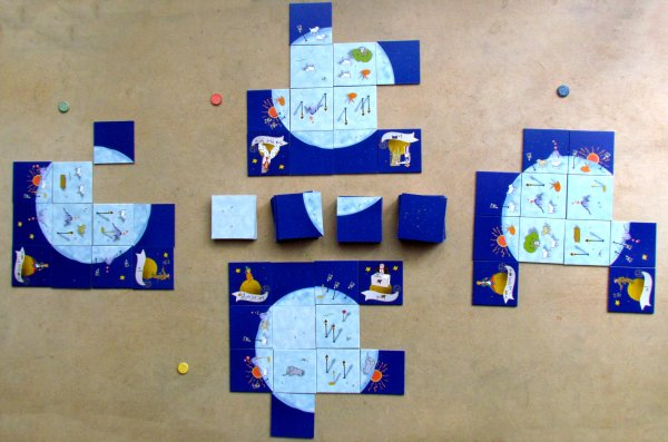 Malý princ: Udělej mi planetu - rozehraná hra
