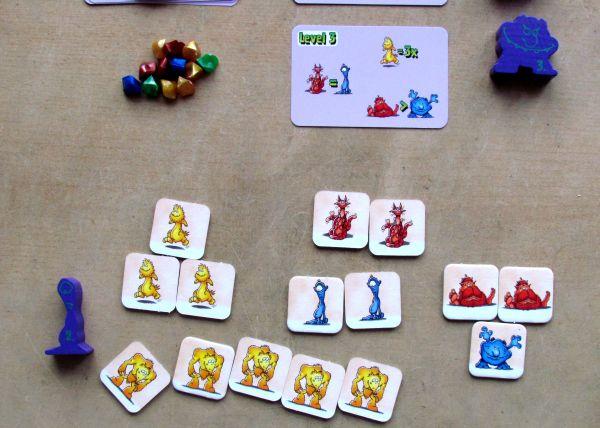 Manno Monster - game in progress
