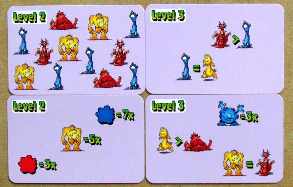 Manno Monster - cards
